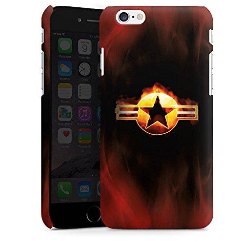 Apple iPhone X Silikon Hülle Case Schutzhülle Stern Emblem Flammen Premium Case matt