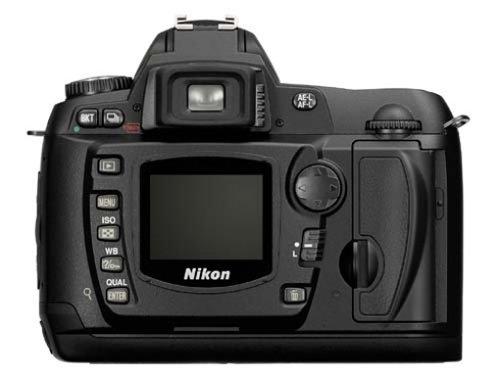 dslr wlan Nikon D-70 digitale Spiegelreflexkamera (6,1 Megapixel) nur Gehäuse