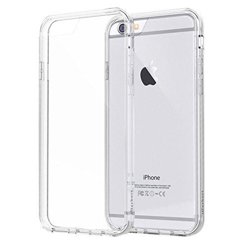 iPhone 6S Custodia - iHarbort® protettiva iPhone 6 6S il Custodia caso della copertura del respingente con assorbimento degli urti Bumper e Anti-Graffi Cancella pannello posteriore Con la protezione d Trasparente