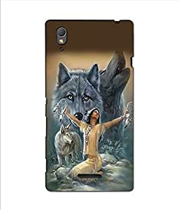 SONY XPERIA T3 PRINTED BACK COVER BY aadia