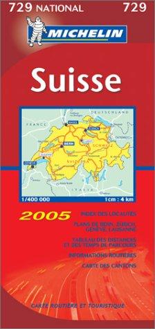 Carte routière : Suisse par Michelin