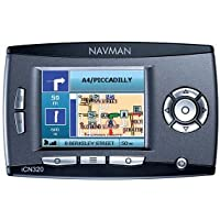 Navman ICN-320 - UK  GPS Navigation System