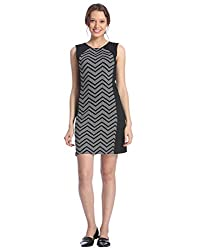 Vero Moda Womens Casual Dress (_5712838857729_Black_X-Small_)