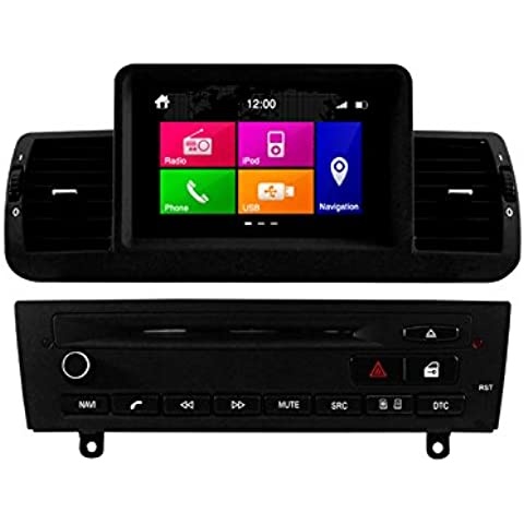 Dynavin N6-E8X Multimedia/Navigation Factory-Fit Style DVD/Bluetooth/iPod/GPS/SD/USB Touch-Screen Head Unit for BMW E81/E82/E87/E88 1-Series (2004-2011), [Importado de