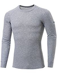 Odlo Originals Warm T-Shirt chaud col rond manches longues Homme