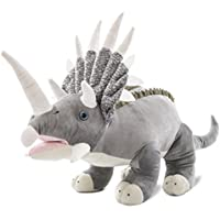 Wagner 4503 - Plüschtier Dinosaurier Triceratops - 85 cm gross - Dino