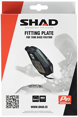SHAD X019PS Platine Pin System Noir no