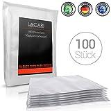 EINFÜHRUNGSANGEBOT - Lacari ® 100 Premium Vaakumierbeutel - Perfekt zum Sous Vide Garen geeignet - Vaakumbeutel für alle Folienschweißgeräte - Inkl. GRATIS EBook