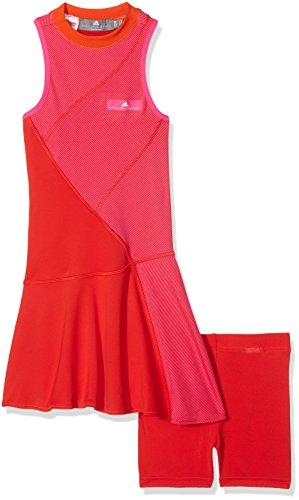 adidas Mädchen Stella Mccartney Barricade Kleid, Core Red, 140