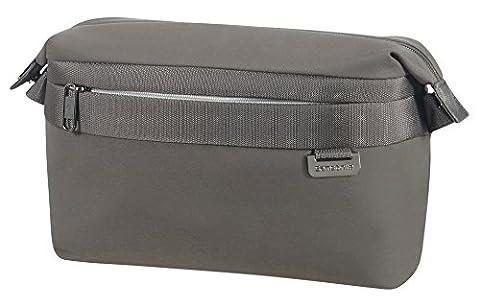 Samsonite Durchläufer Kulturtasche, 27 cm, 6 L, Grey