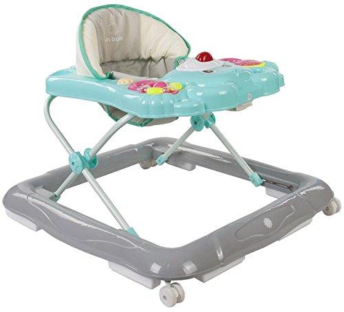 Sun bébé Ride On avec panneau rotatif, Bleu