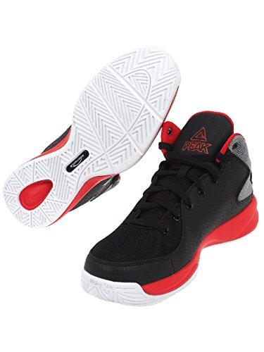 Peak - Thunder gold blue - Chaussures basket Black / Grey / Red