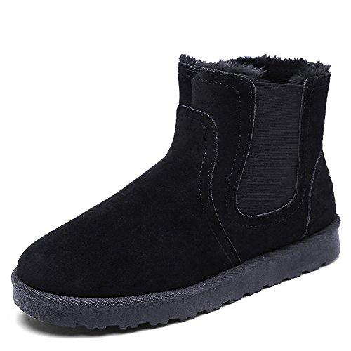 FEIFEI Chaussures pour hommes de haute qualité matériau bottes de neige hiver à la mode loisirs garder au chaud 3 couleurs