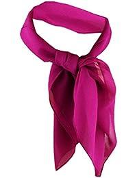 TigerTie Damen Chiffon Nickituch verschiedene Farben Gr. 50 cm x 50 cm - Tuch Halstuch