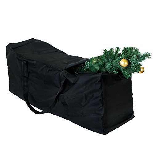 Extreme Heavy Duty Bag for Storing Large Artificial Christmas Tree and Decorations – Perfect for Safe and Protective Storage All Year - for Trees up to 9 feet - Dimensions 135cm x 38cm x 54cm