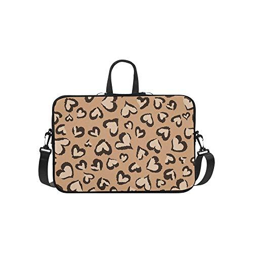 Animal Hearts Aktenkoffer Laptoptasche Messenger Schultertasche Crossbody Handtasche für Geschäftsreisen (Chromebook Acer Haut)