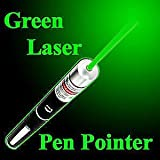 Best High Power Flashlights - MOHAK 5MW Teaching Pen, Green Laser Pointer, High Review