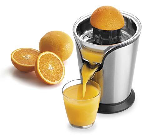 Lacor 69287 Exprimidor zumo de naranja eléctrico, acero inoxidable, libre de bpa, 100 w 400