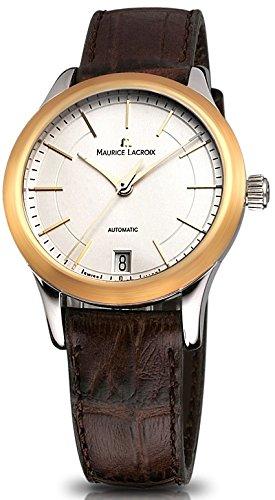 Maurice Lacroix Les Classiques Mujer Reloj marrón lc6016de ys101-130