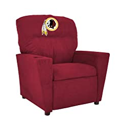 NFL Washington Redskins Kids Microfiber Recliner