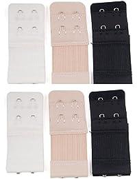 6pcs Women Soft Comfortable Bra 2 Hooks / 3 Hooks / 4 Hooks Extender