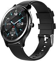 Ametoys G28 Smart Watch,Fitness Tracker.Heart Rate Monitor,IP68 Waterproof,Sleep Monitor,for men&women(Bl