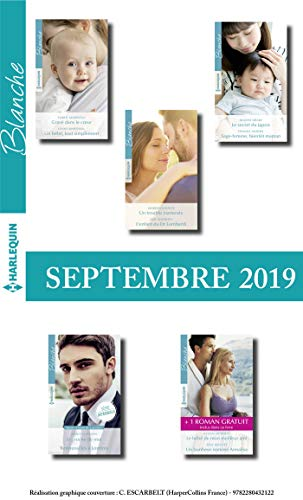 10 romans Blanche + 1 gratuit (n°1446 à 1450 - Septembre 2019 ...