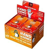 Only Hot Hand Warmers, Calentadores de Manos, 10 Horas de Calor, listos para Usar, autocalefactantes, 100% Natural, 40 Pares, Display Box