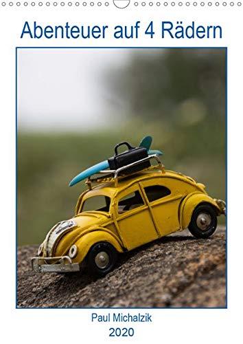 Abenteuer auf 4 Rädern (Wandkalender 2020 DIN A3 hoch): Miniaturautos in großen und großartigen Bildern (Planer, 14 Seiten ) (CALVENDO Mobilitaet)