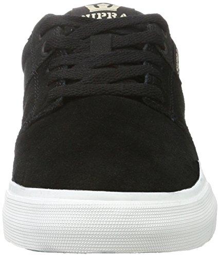 Supra - Stacks Vulc Ii, Pantofole Uomo Nero (Black/White)
