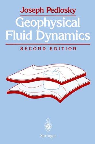 Geophysical Fluid Dynamics por Joseph Pedlosky