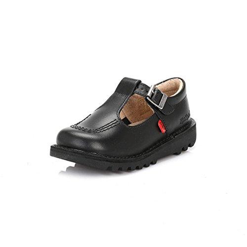 Fv1 Crianças Ch Kickers Kicklot Sapatos Para Volta Preto Pretos Fivela Escola pqw85nrwE