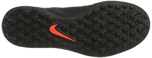 Nike Unisex-Kinder Hypervenomx Phade Iii Tf Fußballschuhe Schwarz (Black/Metallic Silver-Black-Total Crimson)