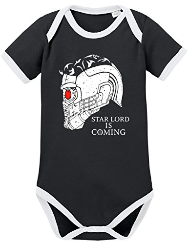 TSP Starlord is Coming Kontrast Baby Body 62 Schwarz