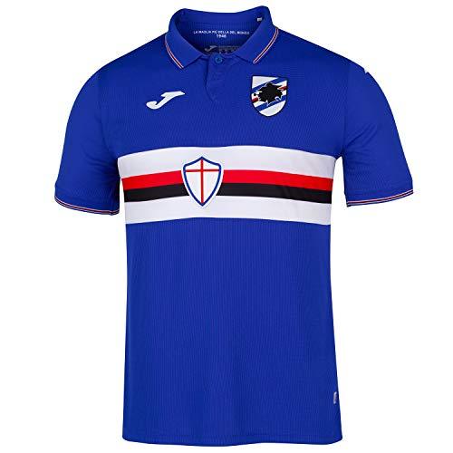 Joma 2019-2020 Sampdoria Home Football Soccer T-Shirt