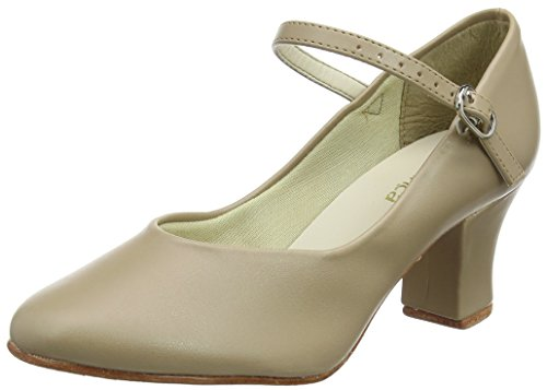 So Danca Ch52, Damen Step Tanzschuhe, Beige (Tan), 36 EU (3.5 L UK)