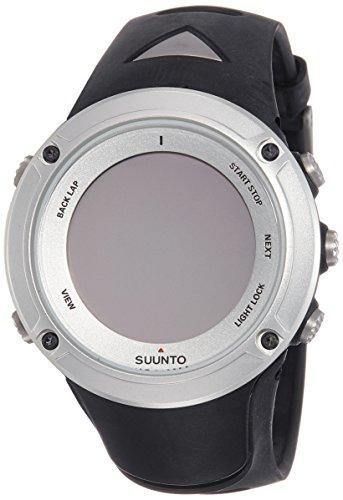 Suunto Ambit 2 Silver HR Reloj con GPS Integrado, Unisex, Negro/Plateado