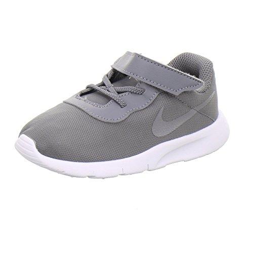 Nike Unisex Baby Kleinstkinder Sneaker Tanjun (TDV) Hausschuhe, Mehrfarbig Gunsmoke/White 004, 21 EU