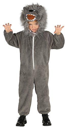 Guirca–Kostüm Wolf, Größe 5–6Jahre (87491.0)
