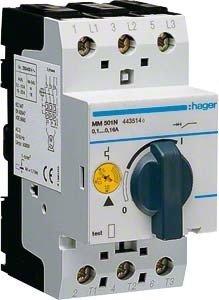 HAGER MM501N - GUARDAMOTOR 6KA 0 1-0 16A