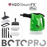 BOTOPRO - H2O Steam FX Pro, vaporeta de Mano Profesional Que Limpia, Quita los Malos olores y...
