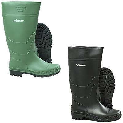 Woodside Waterproof Wellington Garden Muck Field Welly Boots Mens & Ladies Wellies by Woodside