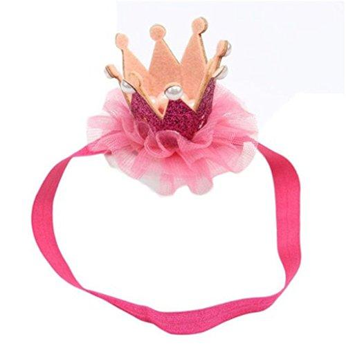 Baby Mädchen Prinzessin Krone Stirnband Tiara für die Fotografie Props Kostüm Party