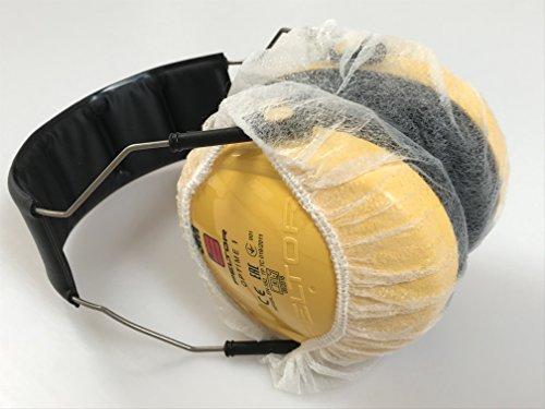 Hygieneschutzhüllen für Gehörschutz - Hygieneschutz Kopfhörer - Kopfhörerschoner – Schutzbezüge für Headsets - Hygieneschutzhüllen für Kopfhörer - Headphone Cover- Kopfhörer Schutzhülle