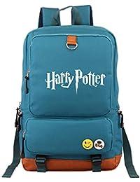 b9704b7beb ZLQF Harry Potter Cartable Imperméable Durable de Voyage Camping Scolaire  Multifonctionnel, Backpack, Sac pour