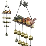 Monsiter Wind Chimes con Birds Decoration Outdoor Garden e Home Decor