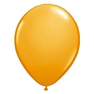 Globos Globos de la Fiesta Decoración 50Unidades Naranja 30cm Talla Única