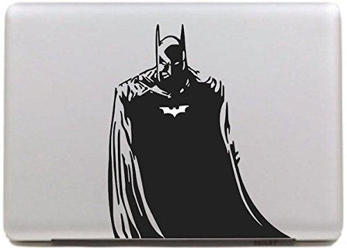 Vati Blätter Removable Batman Kühles Design Beste Vinyl Aufkleber Aufkleber Skin Art Perfektes Schwarz für Apple Macbook Pro Air Mac 13