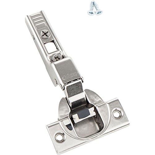 BLUM Clip top Möbel-Scharnier | Möbelband; Mittelanschlag; mit integrierter BLUMOTION-Tür-Dämpfung (=Softclose), 10 Stück