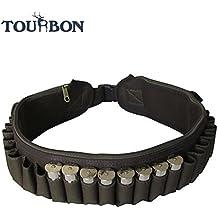 Tourbon fucile da caccia, 12, 24 e conchiglie, con cinghia a tracolla per fucile, munizioni, colore: verde
